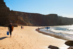 Surfpoint, Portugal Royalty Free Stock Photos