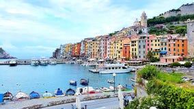 Surfside i Italien Arkivfoto