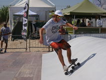 Surfskate Xmasters contest - Riccione 2016 Stock Photography