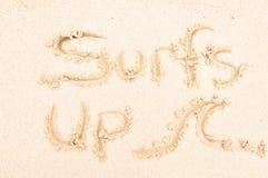 surfuje surfować Obraz Royalty Free