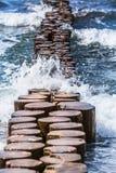 Surge at the Coast Royalty Free Stock Image