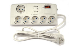 Surge protector Royalty Free Stock Image