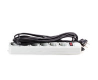Surge Protector. Isolated on white background royalty free stock photos