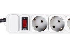 Surge protector plug Stock Image