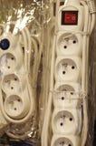 Surge protector plug Stock Photography