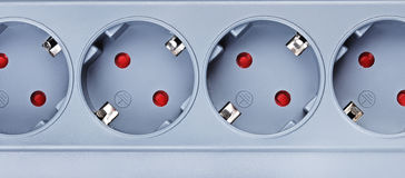 Surge Protector Socket Stock Image
