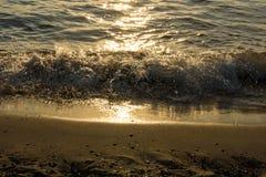 Surge of waves Stock Photo