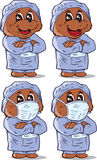 Surgeon Bear, part of a series Royalty Free Stock Photo
