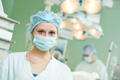 Surgeon doctor portrait Stock Photos