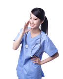 Surgeon doctor talk to you Stock Images