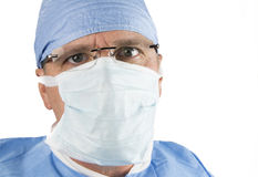 Surgeon with Glasses Stock Image