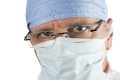 Surgeon with Glasses Royalty Free Stock Photo