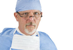 Surgeon with Glasses Royalty Free Stock Photography