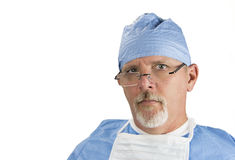 Surgeon with Glasses Royalty Free Stock Photos