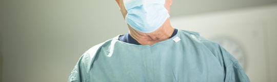 Surgeon in hospital surgery Royalty Free Stock Images