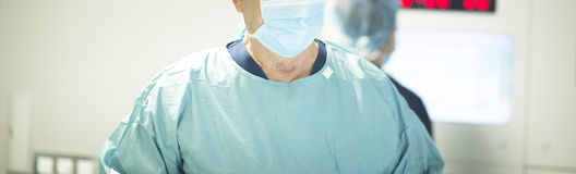 Surgeon in hospital surgery Royalty Free Stock Photography