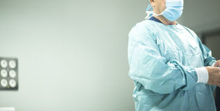 Surgeon in hospital surgery Stock Image