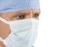 Surgeon with Mask Royalty Free Stock Photos