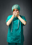 Surgeon mistery Stock Photography