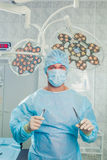 Surgeon at operating room in the hospital.  Royalty Free Stock Photography