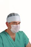 Surgeon portrait Royalty Free Stock Photo