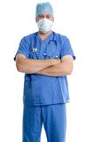 Surgeon portrait Stock Images