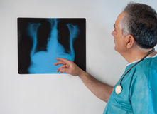 Surgeon x-ray royalty free stock image