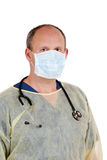 Surgeon ready for minor surgery Royalty Free Stock Photo