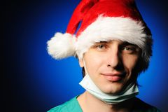 Surgeon Santa Stock Images