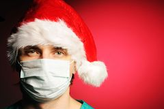 Surgeon Santa Stock Photos