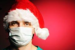 Surgeon Santa Stock Photos