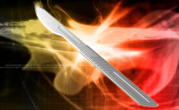 Surgeon scalpel Royalty Free Stock Photos