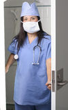 Surgeon in Scrubs Stock Photography