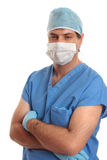 Surgeon in scrubs Stock Photography