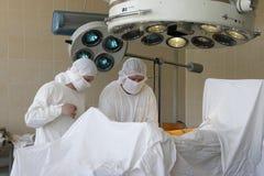 Surgeon work Stock Images