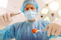 Surgeon at work Royalty Free Stock Photo