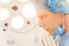Surgeon at work Royalty Free Stock Images