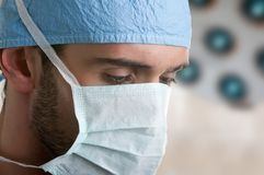 Surgeon at Work Stock Photography