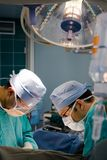 Surgeons at operation Royalty Free Stock Photos