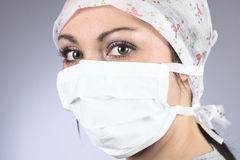 Surgeons woman Stock Photos