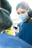 Surgeons At Work Royalty Free Stock Photo
