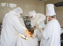Surgeons at work Stock Photos