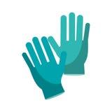Surgery glove medical protective Stock Photo