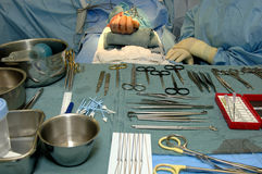 Surgery-Hand Operation Stock Images