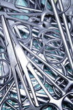Surgery instruments Royalty Free Stock Image