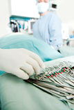 Surgery Instruments Detail Royalty Free Stock Image