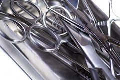 Surgery instruments Royalty Free Stock Images