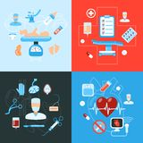Surgery medical icons design concept Royalty Free Stock Photography