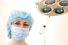 Before surgery operating Royalty Free Stock Photos