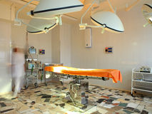 Surgery operating room Stock Photo
